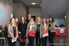 m/ Anne Swärd, Ophélie Alegre et les hôtesses du lycée Don Bosco de Mayenne